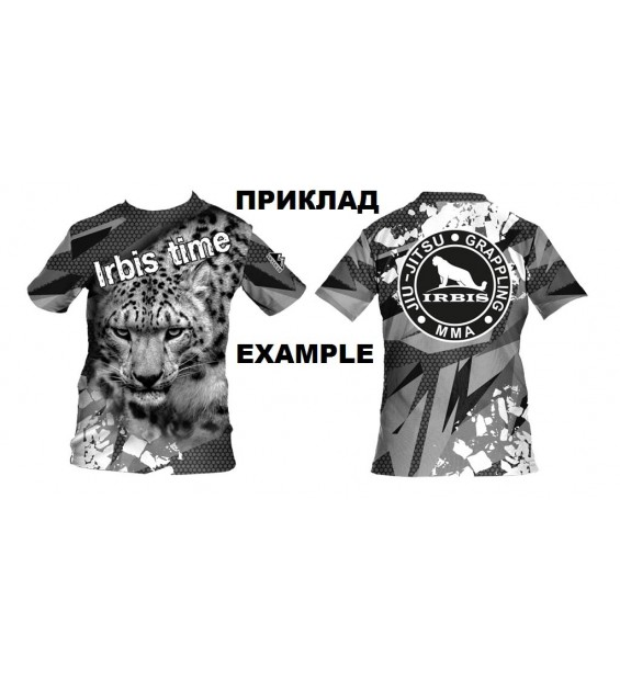 T-shirt for children made of polyester 100% sublimation