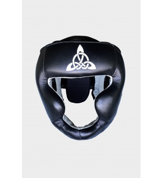 Headgear Berserk sport Scandi-fight (leather) black