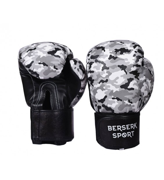 Boxing gloves ecoleather Black