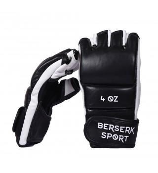 Gloves Berserk Legacy 4 oz black/white (Leather)