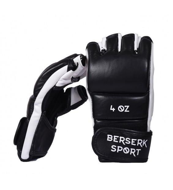 Gloves Berserk Legacy 4 oz black/white (Leather)