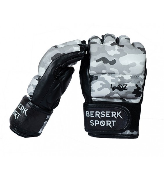 Gloves Berserk 4 oz camo (Leather)