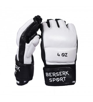Gloves Berserk Legacy 4 oz white/black (Leather)