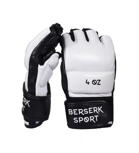 Gloves Berserk Legacy 4 oz white/black (Leather)