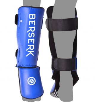 Shinguards Berserk (Imitation leather) blue