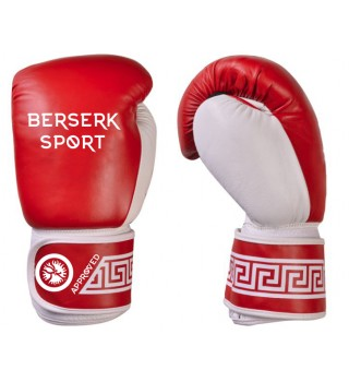 Boxing Gloves BERSERK (vinyl) red