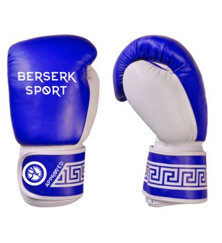 Boxing Gloves BERSERK  (Leather) blue