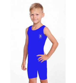 Singlet Berserk Wrestling basic Kids blue