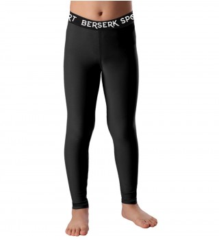 Compression pants Kids Berserk Triquetra black