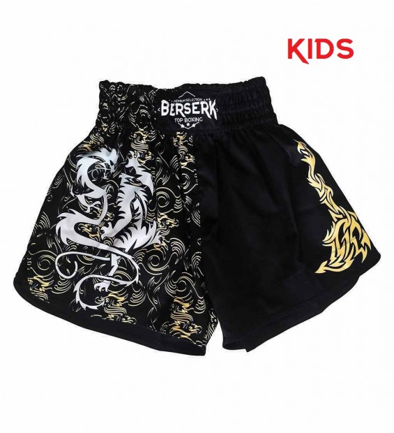 Shorts Berserk Muay Thai Fighter kids black