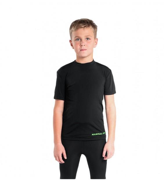 Compression T-shirt Berserk Martial Fit Kids black