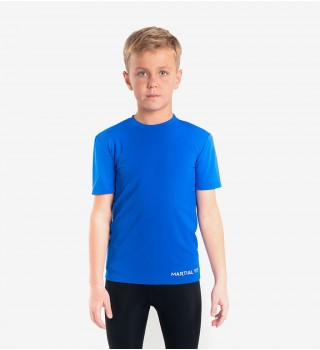 Compression T-shirt BERSERK MARTIAL FIT KIDS  blue