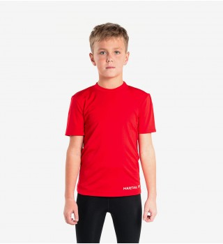 Compression T-shirt Berserk Martial Fit Kids red