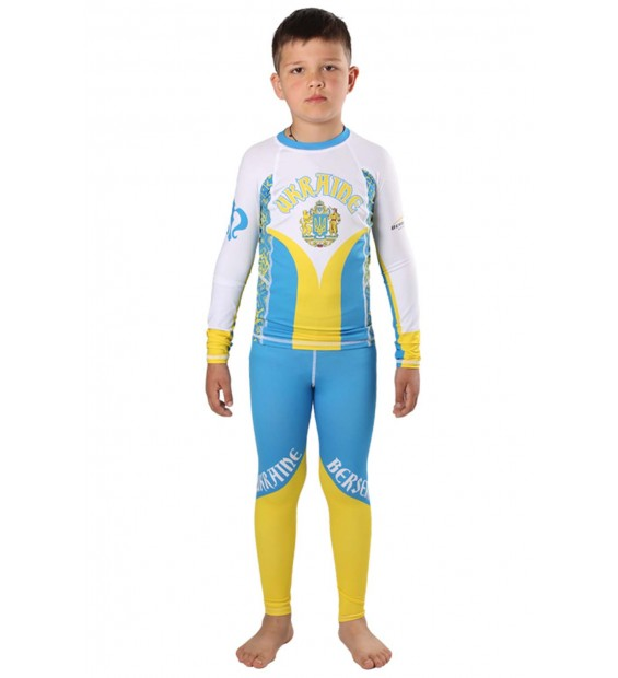 Compression Pants Berserk Hetman Kids blue