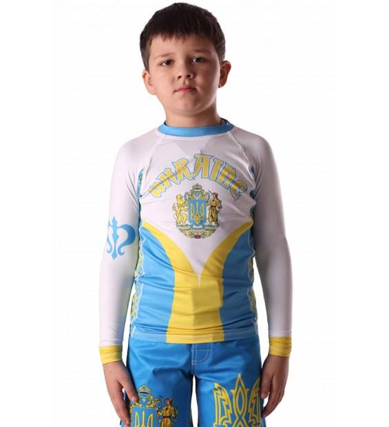 Rashguard Berserk Hetman Kids blue