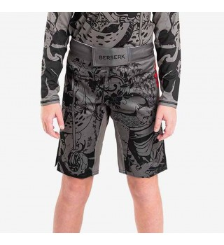Fightshorts BERSERK SAMURAY KIDS grey