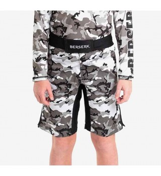 Fightshorts BERSERK CAMO KIDS grey