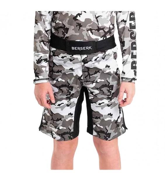 Fight shorts Berserk Camo kids grey