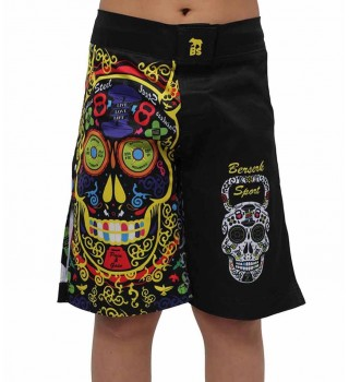 Fightshorts Berserk Cross Skull kids black