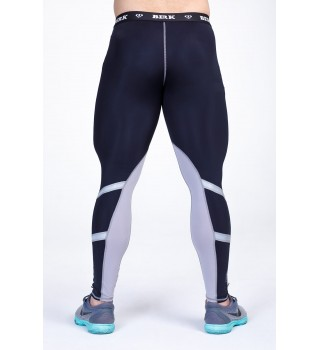 Compression pants Berserk Reflective Power black/white