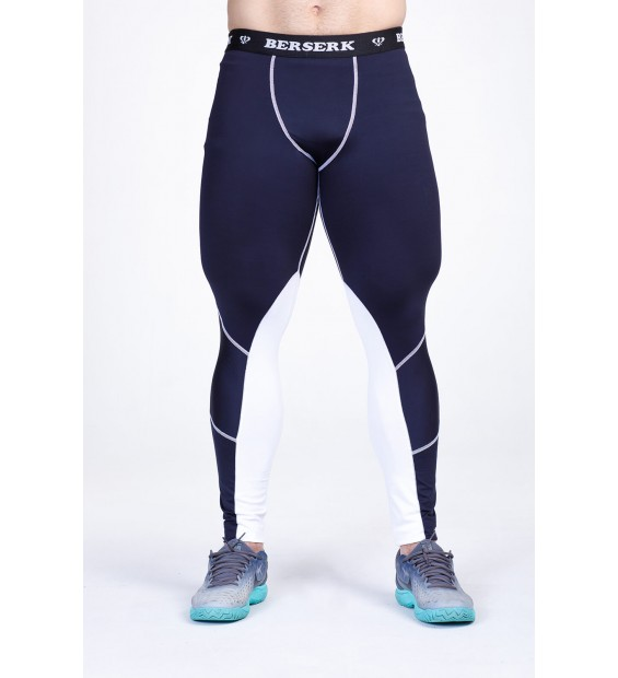 Compression pants Berserk Bear Speed black/white
