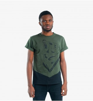 T-Shirt Berserk Bear Spirit green