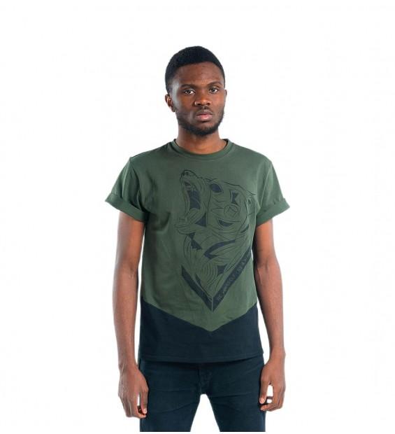 T-Shirt Berserk Bear Spirit green