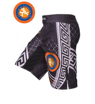 Fight shorts MMA Berserk Pankration 3D Approved UWW black