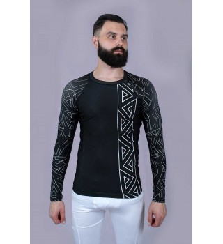 Rashguard Berserk Scandi Fight black
