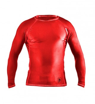 Rashguard Berserk Triquetra red long sleeve