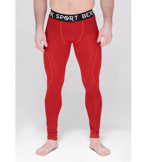Compression pants Berserk Triquetra red