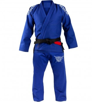 Kimono Berserk Jörmungandr BJJ GI blue