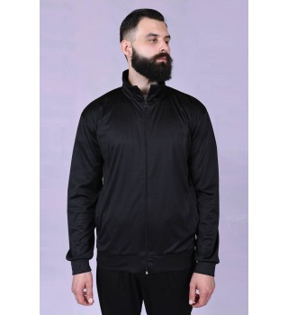 Zipped sweater Berserk Camp black