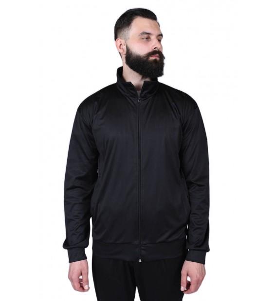 Zipped sweater Berserk Camp black