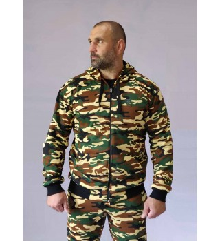 Hoodie Berserk Pragmatic camo green (without fleece)
