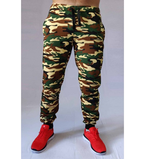 Pants Berserk Premium camo green (without fleece)