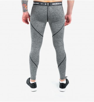 Compression Pants Berserk F-17 grey