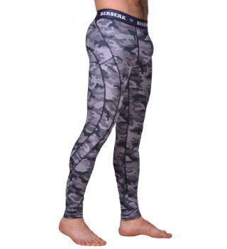 Compression Pants Berserk Tactical Force camo grey