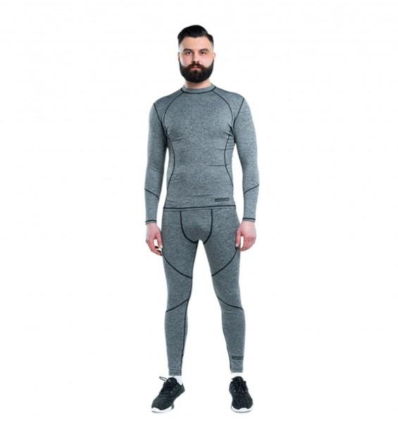 Compression T-shirt Berserk F-17 grey