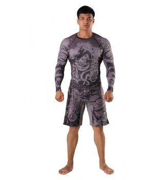Fight shorts Berserk Samuray grey
