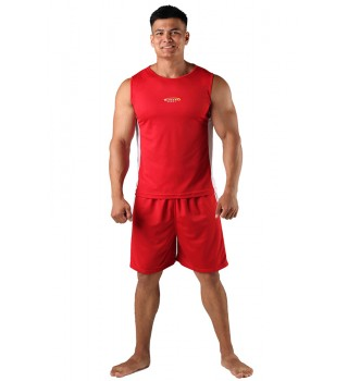 Shorts Berserk Boxing red