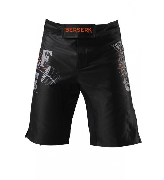 Fight shorts Berserk Wolfs Stamina black