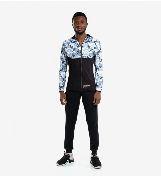 Hoodie BERSERK EVOLUTION FIT camo/black