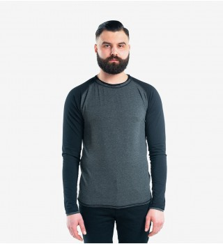 Longsleeve Berserk dark grey/black