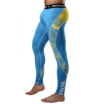 Compression Pants Berserk Hetman blue