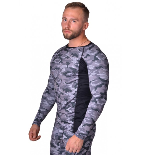 Rashguard ММА Berserk Tactical Force camo grey