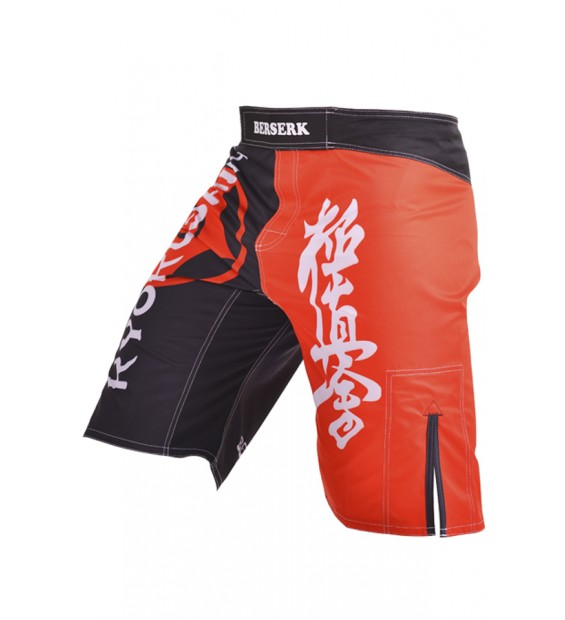 Fight shorts Berserk Kyokushin black