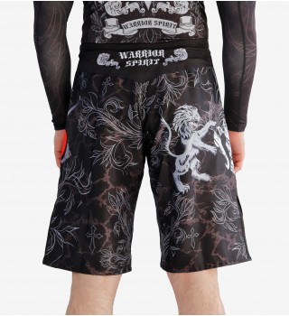 Fight shorts ММА Berserk Warrior Spirit black