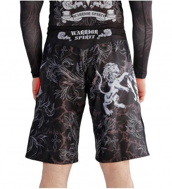 Fight shorts ММА Berserk Warrior Spirit black