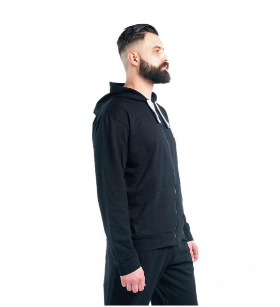 Hoodie BERSERK PRAGMATIC black (fleece)